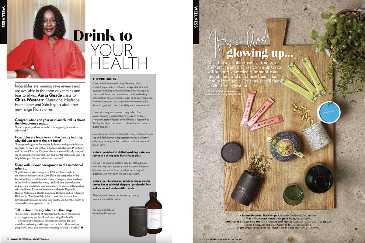 FloraBiome By Chiza Westcarr Professional Beauty Magazine