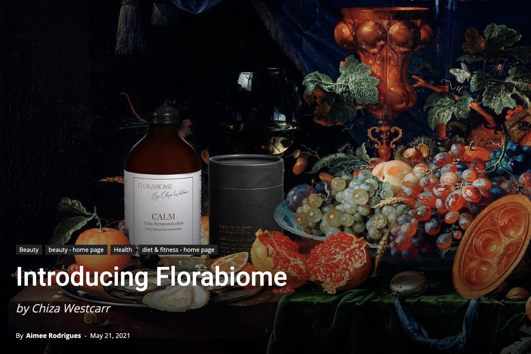 FloraBiome By Chiza Westcarr COS Beauty Magazine